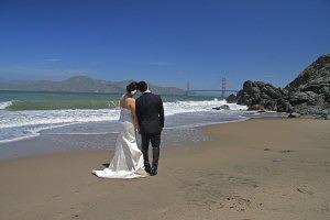 SF Beach Wedding