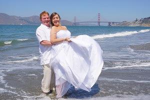 real,beach,wedding,san,francisco